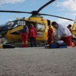 Látogatás a légi mentőknél