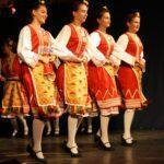 Külföldi táncegyüttesek a megyeháza színpadán