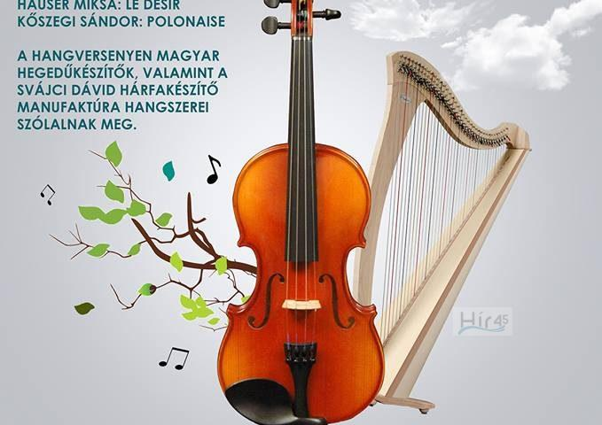 hegedű-hárfa