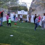 A sportváros sportóvodája sportpályát kapott
