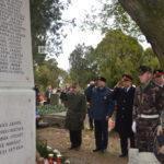 Felújították és felszentelték az elesett katonák Sírkertjét