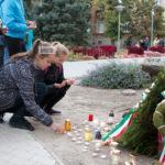 Az aradi 13-ra emlékeztek Csongrádon