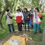 Emléktábla avatás a Koszta tanyán