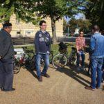 Emlékhelyek közös látogatása – kerékpárral