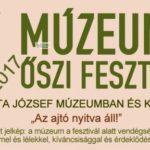 Az őszi múzeumi fesztivál programjai