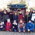 A református iskola adománya a Kárpátaljaiaknak