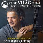 Snétberger-koncert Szentesen? Igen!
