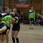 Megyei női kézilabda mérkőzésen – vereség