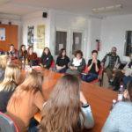 Belga diákok a Boros-ban