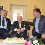 A 105.éves Laci bácsit köszöntötték