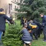 Barátság-fát ültettek a gimnáziumban