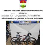 Kerékpár regisztráció