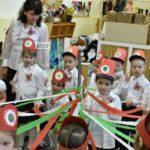 A Kiséri városrész ovisainak ünnepe