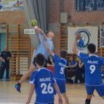 U12-es fiú kézisek meccsei  a sportcsarnokban