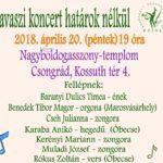 Tavaszi koncert a Nagyboldogasszony-templomban.