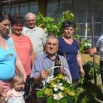 90 év – családszerető légkörben