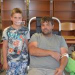 Három óra alatt 26-an adtak vért a Kosztában