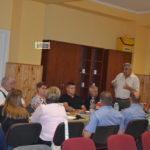 A polgárőrség megyei vezetése Szentesen tanácskozott
