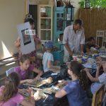 """A Kosztás gyerekek alkotó tábora az """"Angyalvárban"""""""