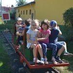 Mobilitási Hét – ovisok a Vasúttörténeti parkban