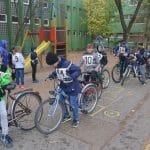 Kisiskolások közlekedési versenye