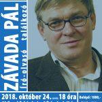 Závada Pál író-olvasó találkozó
