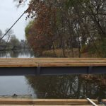 Elkezdődött az új híd összerakása