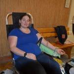 A hivatalban is lehetett vért adni