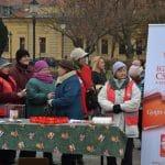 Jótékonysági gyűjtés a Kossuth téren
