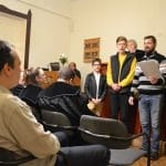Ökumenikus mise a Gyülekezeti teremben