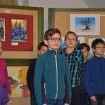 Versekkel, énekkel, festményekkel ünnepeltek a Szivárvány iskolában