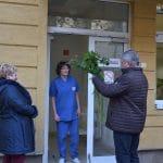 Az országgyűlési képviselő köszöntötte a szentesi kórház ápolóit