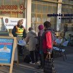 Kerékpár regisztráció a zöldségpiacon