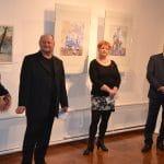 Művészek és művésztanoncok közös kiállítása