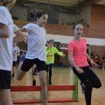 Régiós terematlétikai verseny a Klauzálban