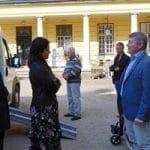 A kormányablak busz körútja Nagymágocson kezdődött