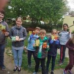 Biokert – önkéntes gyermekek által