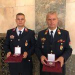 Szentesi tűzoltók elismerései