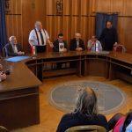 Izraeli vendégek a városban és a városházán
