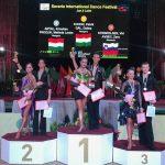 A szentesi táncosok sikerei a Savaria fesztiválon