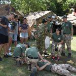 Befejeződött a műszaki alakulat első, túlélő tábora