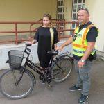 A lakatot letépte, a kerékpárt elvitte, de megkerült