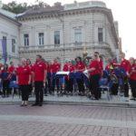 Szeged belvárosában zenéltek a szentesi fúvósok