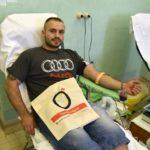A retro-váradáson több mint fél százan adtak vért