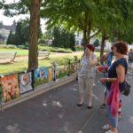 Kerítés-kiállítás az Erzsébet téren