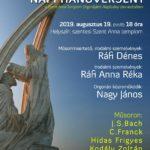 Hagyományos orgona koncert – Szent István Napja tiszteletére