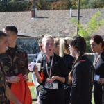 A műszaki katonák együtt sportoltak a civilekkel