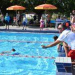 Aquatlon verseny a szentesi uszodában