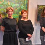 Hermkens Edit kiállítása a szentesi galériában