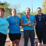 Tisza Kupa dobóverseny – négy érem